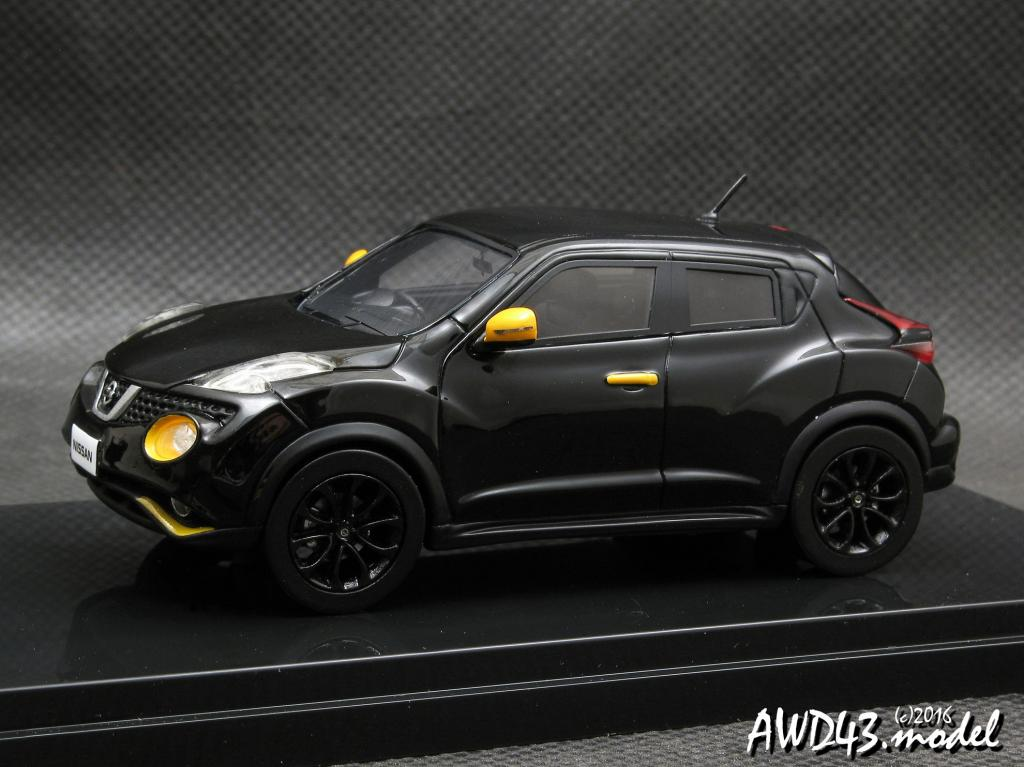 Nissan Juke 15RX Personalization CVT 1.5 2014 black 1-43 WIT's