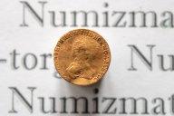 1 рубль 1779 года для дворцового оборота. Золото. Биткин R