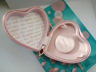 Шкатулка Pandora Сердце. Оригинал, кожаная розовая