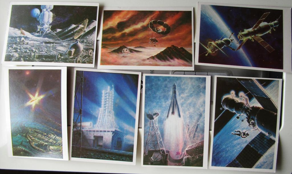 набор открыток мир завтрашнего дня пришлось вынести хвост