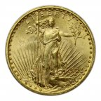 20 долларов 1923 год, США,  Золото, вес: 33,48 грамма. Шагающая свобода.