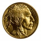 50 долларов 2009 год. США. Буффало. Золото, 999,9 проба. Вес: 31,1 гр. Идеал!