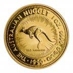 100 долларов 1990 год. Австралийский кенгуру. Золото 999! 1 oz. Австралия