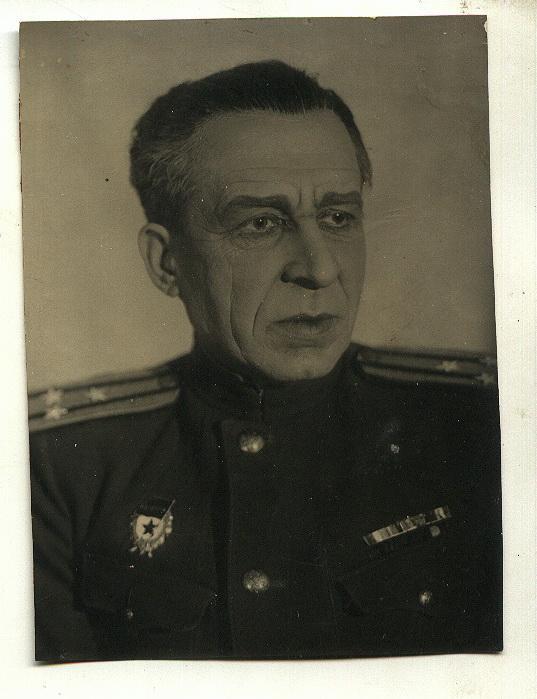 Полковник-гвардеец.