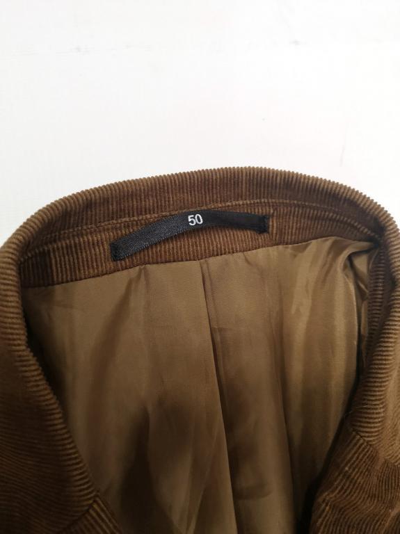 Пиджак стильный вельветовый Watsons, Разм 50 (L), Как новый