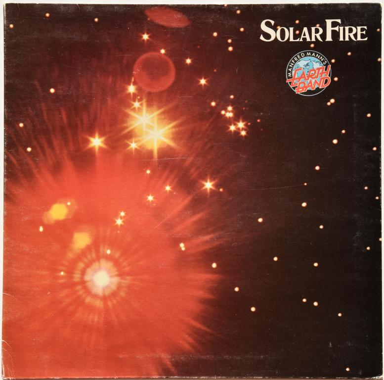 "Manfred Mann's Earth Band ""Solar Fire"" 1974 Lp U.K."