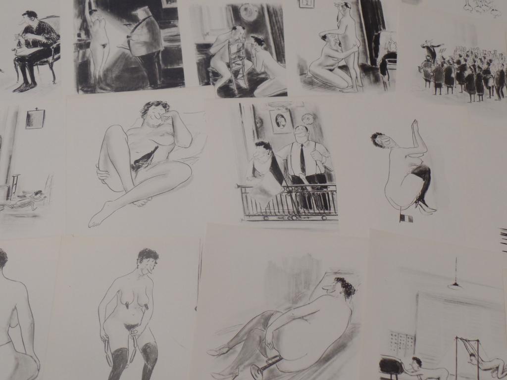[18+ Эротика] 24 очень откровенных рисунка экз. № 63 анонимное издание редкость 1960г