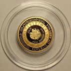 10000 драм 2008 год. Знаки зодиака - СТРЕЛЕЦ. PROOF. Золото 8.65 гр, 900 проба. Армения.