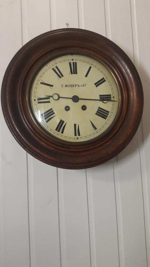 Продать настенные фирма moser часы tissot продать часы