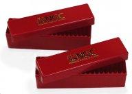 2 (две) Коробка под слабы NGC и другие (емкость 20шт) абсолютно новые красные, с рубля!!!!!