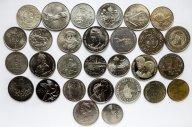 29 монет разных стран: Сингапур, Португалия, Кабо-Верде, Гамбия, Кипр, Болгария и др.