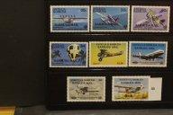 Авиация, воздухоплавание. Чистые марки (**)   ЛОТ 33