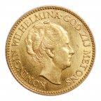10 гульденов 1932 год. Золото. Вес: 6.7 грамм. Отличная сохранность! Штемпельный блеск! #1