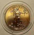 50 долларов 2015 год. США. American Eagle Gold Bullion. Чистого золота - 31.1 грамм. Редкая!