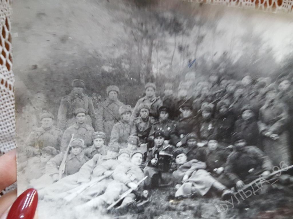 Фотография Фото Военные 1941-1945 Солдаты оружие Фотокопия?? Великая Отечественная война