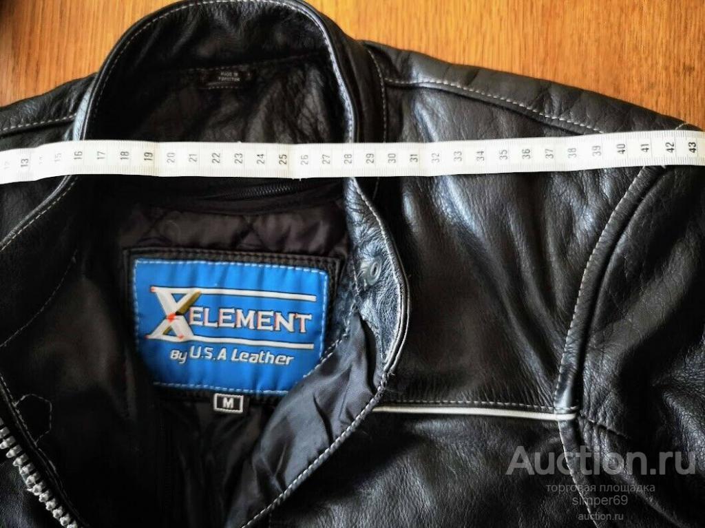 Кожаная куртка Ultimate-байкерский стиль  из натуральной кожи размер M (женский)