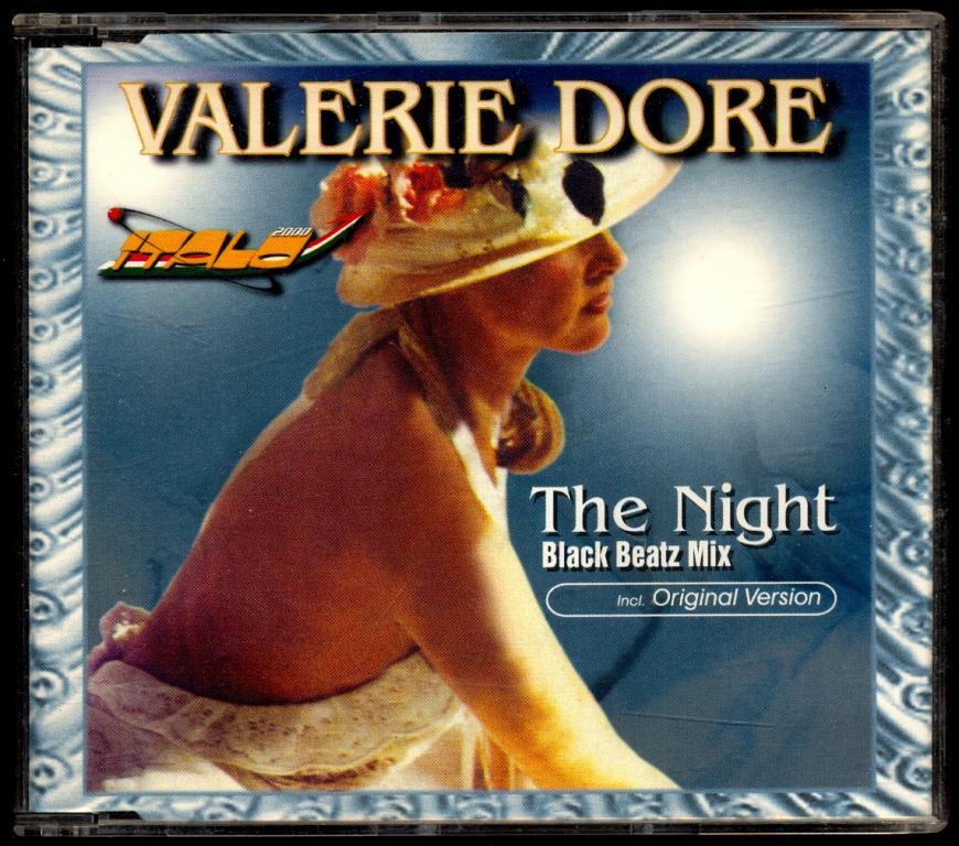 VALERIE DORE Maxi-Single – The Night (Black Beatz Mix) 1998 Italo-Disco made in Germany