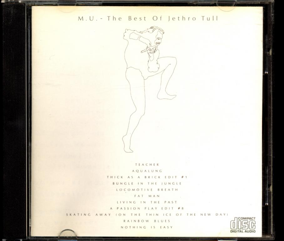 JETHRO TULL – M. U. The Best Of Jethro Tull 1984 made in UK (лот 2) отл.сост.