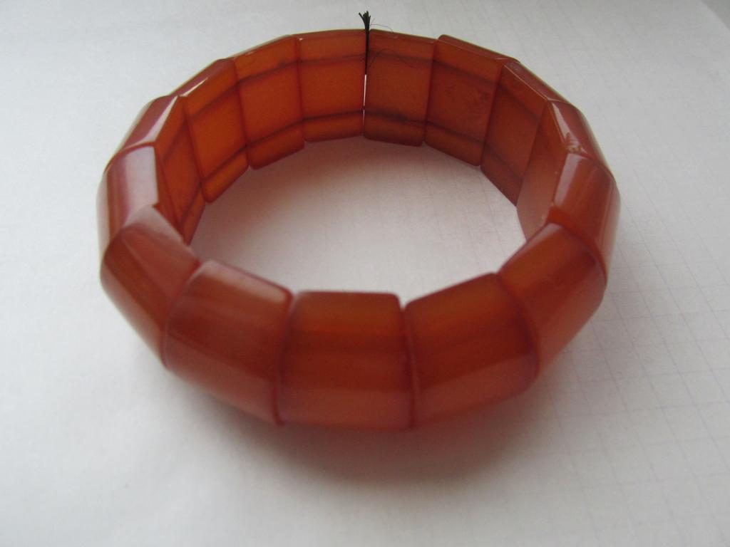браслет янтарь ириска