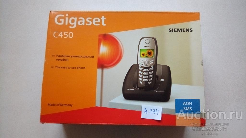 Радиотелефон SIEMENS Gigaset С 450 ( А 394).
