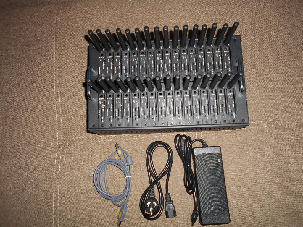 GSM модем Siemens MC39i на 32 порта для SIM карт