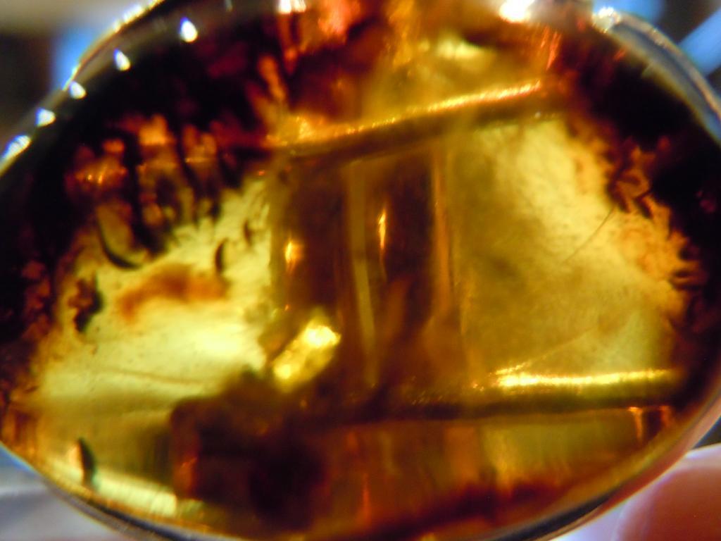 Кольцо с натуральным янтарём, 10,72гр