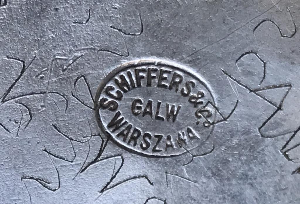 Подстаканник в русском стиле бочонок серебрение Фраже  шефферс Варшава царизм