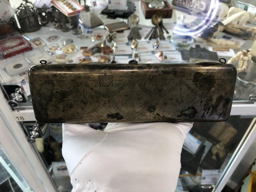 Ридикюль, кошелек, сумочка. Серебро 84 пробы. 250 грамм. Царизм.