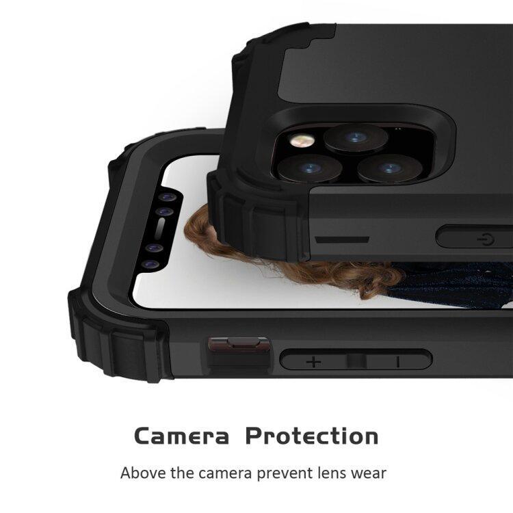 Противоударный чехол для iPhone 11 Pro Max с усиленными гранями (Black)