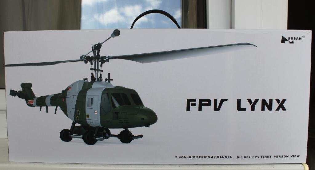 РАДИОУПРАВЛЯЕМЫЙ ВЕРТОЛЕТ FPV  -- HUBSAN Westland Lynx H101F