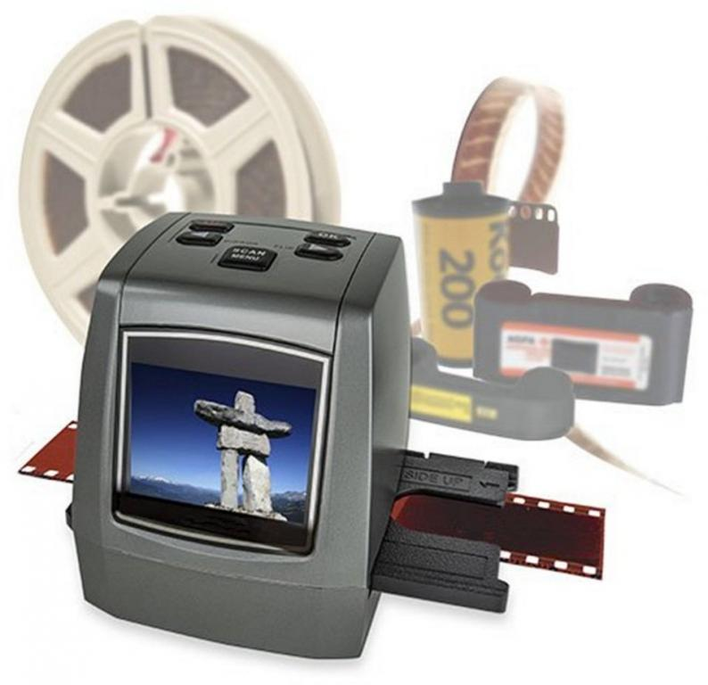 модуль для сканирования фотопленки влиянием