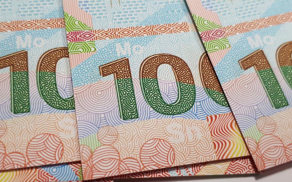 С 1 рубля! - ОПТОВЫЙ ЛОТ - 100 ШТУК, ПАЧКА - 100 рублей 2020 года. ПАМЯТНАЯ БАНКНОТА РОССИИ