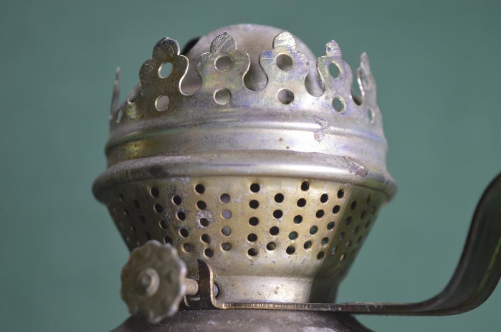 Лампа керосиновая без стекла, СССР