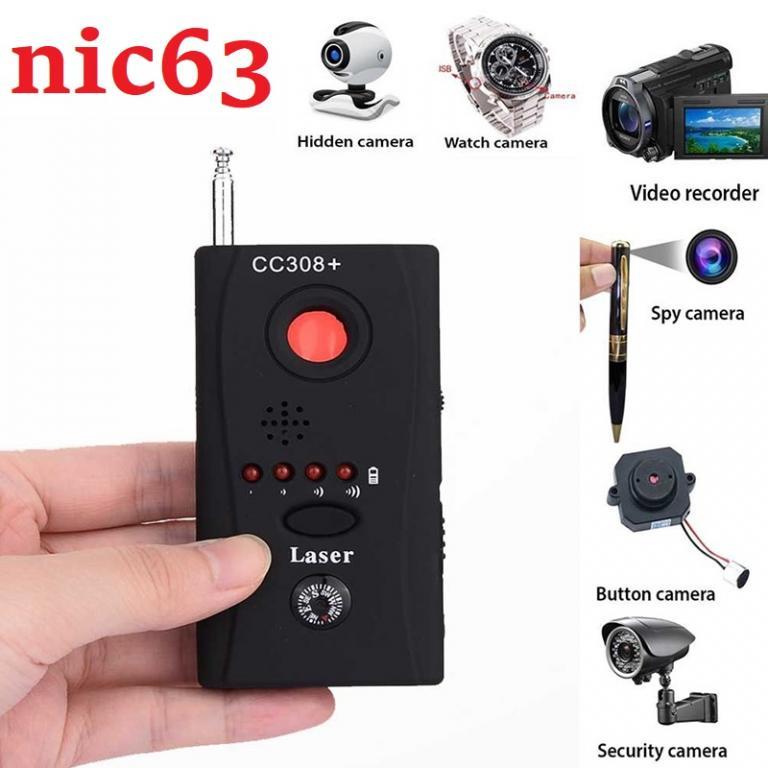 CC308 ДЕТЕКТОР ОБНАРУЖИТЕЛЬ скрытых спрятанных жучков, линз, камер, сотовых телефонов, GPS трекеров