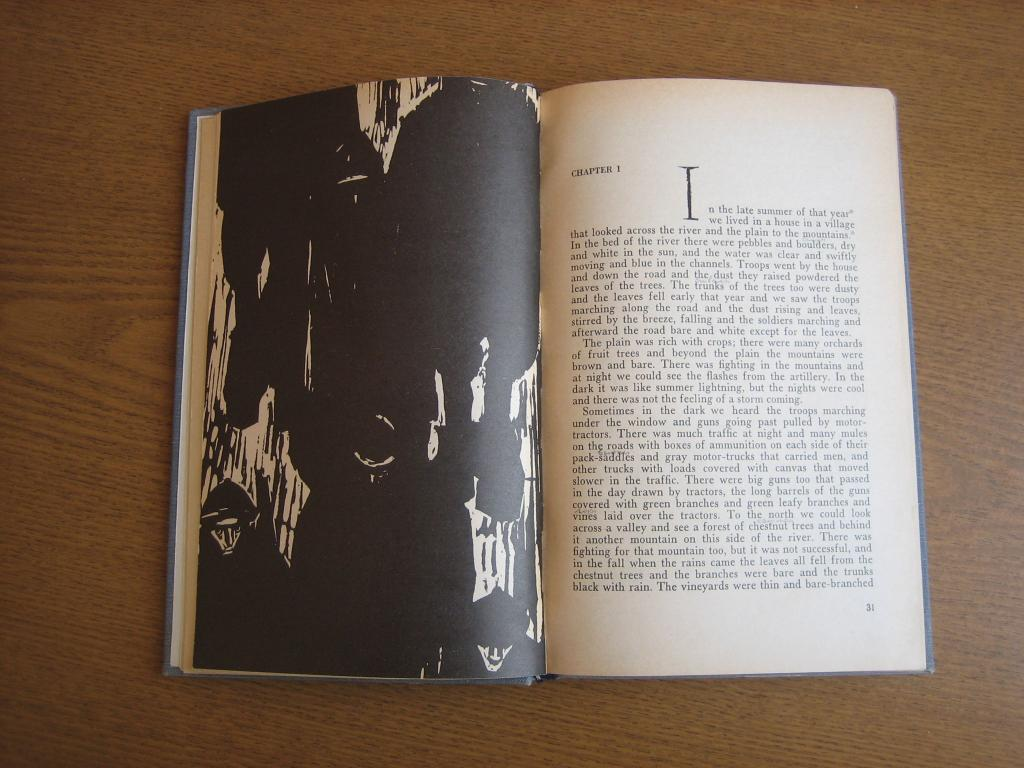 "Ernest Hemingway ""A Farewell To Arms"" Илл. Толстой CCCP 1969 г"