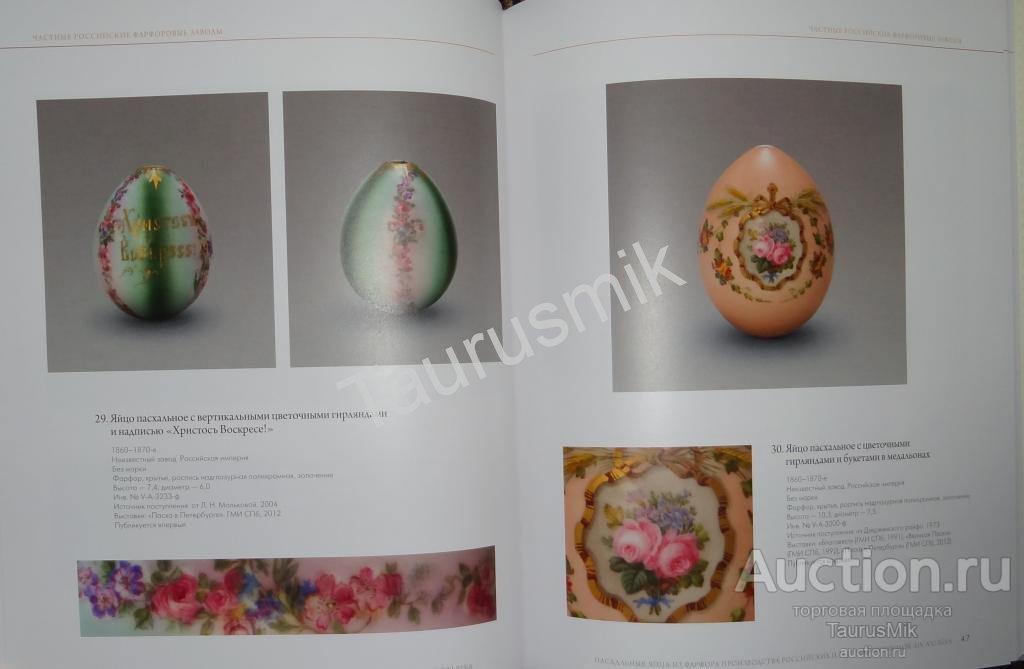 Книга Пасхальные яйца из стекла и фарфора 19-21вв.