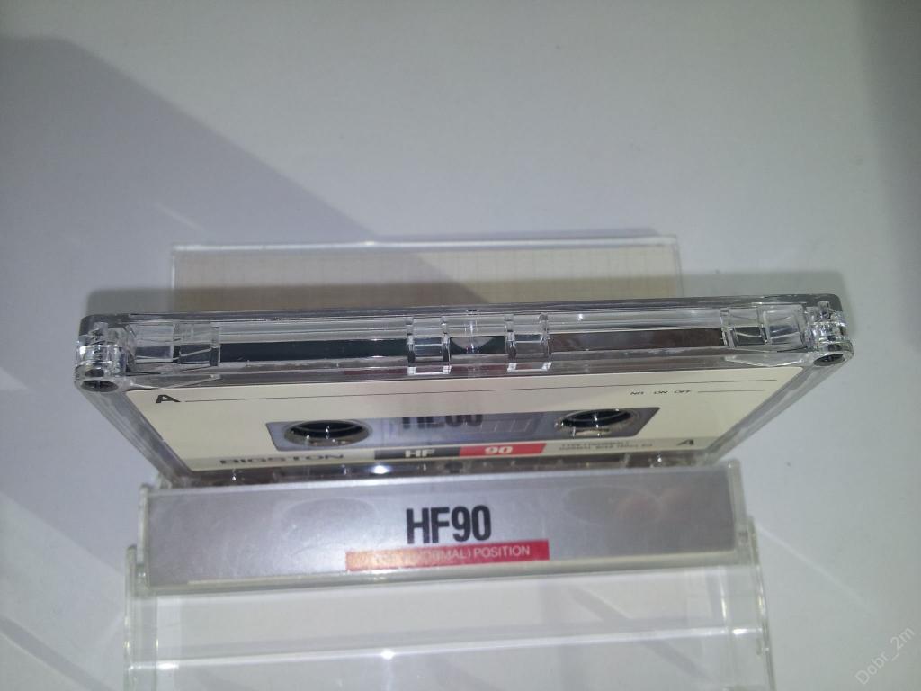 Аудио кассета BIGSTON HF 90 как новая #