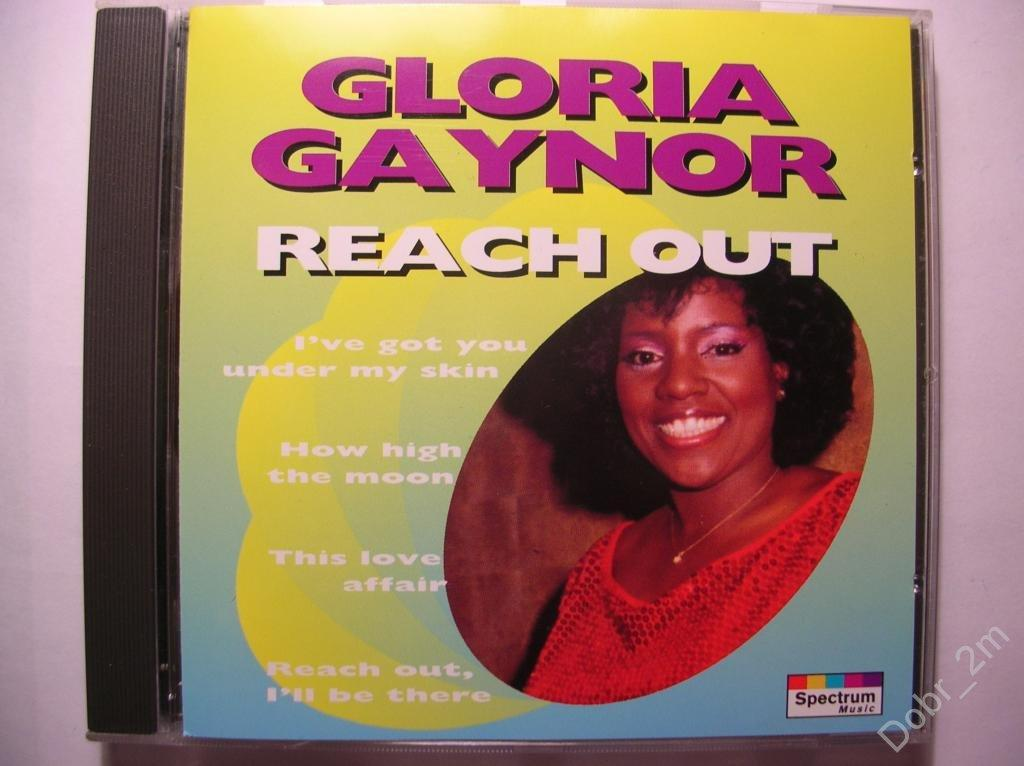 GLORIA GAYNOR Reach out 1994 made in Germany by PMDC (старое издание) без IFPI #