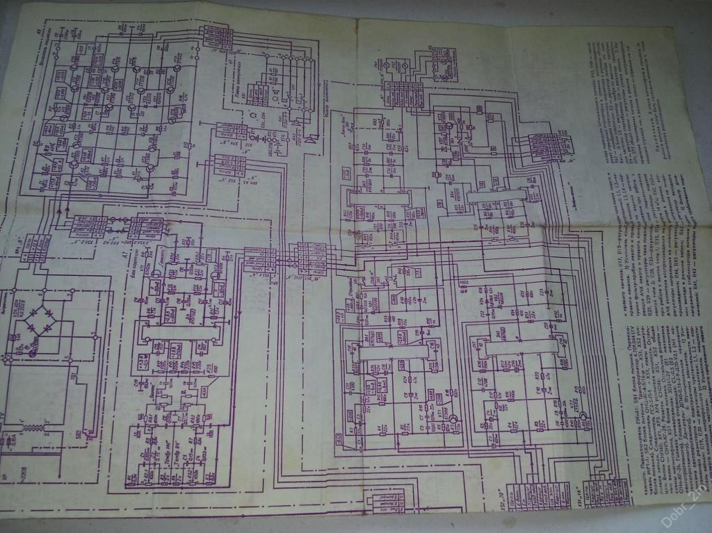 Паспорт и руководство по эксплуатации Магнитофон ВЕСНА М212С - 4 + альбом схем СССР #