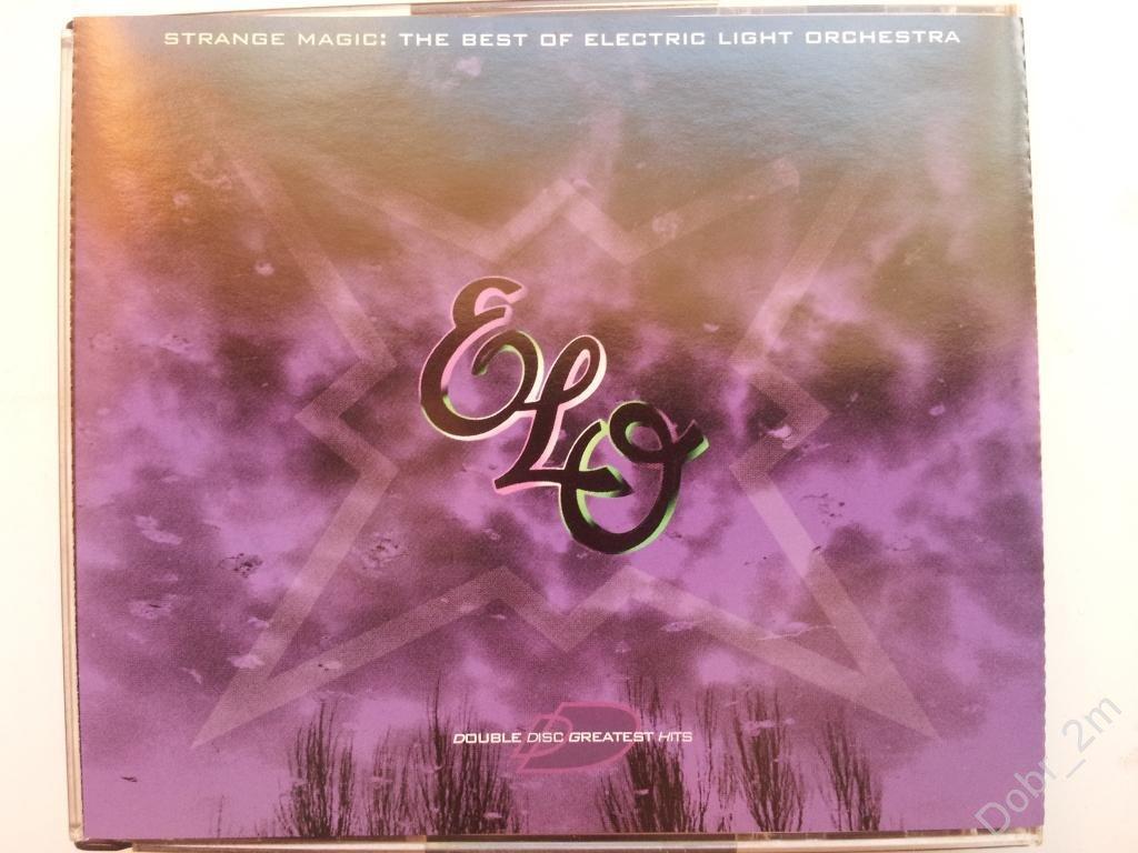 The Best of E.L.O. 2 ДИСКА Strange magic 1995 USA ELECTRIC LIGHT ORCHESTRA fat box RARE!