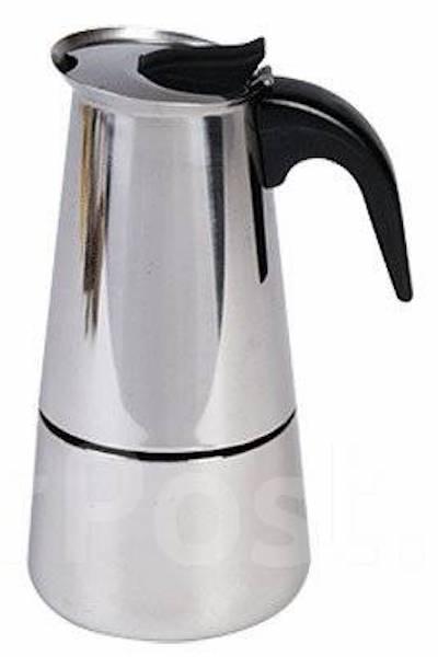 Кофеварка гейзерная. На 9 чашек (450 мл). Новая!
