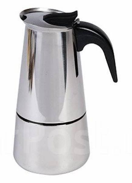 Кофеварка гейзерная. На 4 чашки (200 мл). Новая!