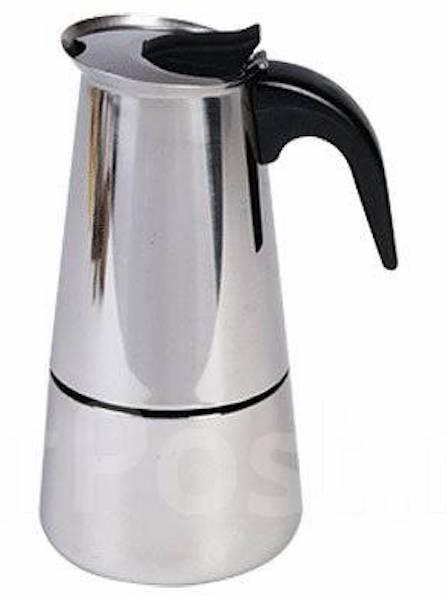 Кофеварка гейзерная. На 2 чашки (100 мл). Новая!