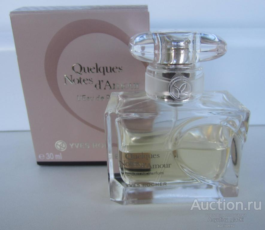 Eau de parfum Quelques notes d'amour (Yves Rocher)