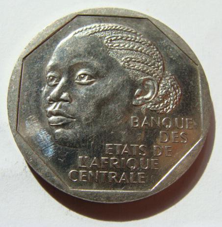 Центральная Африка 500 франков 1998 г