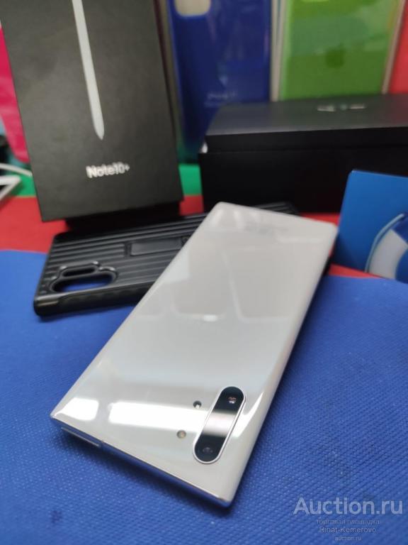 Samsung Note 10+ 12/256 комплект гарантия