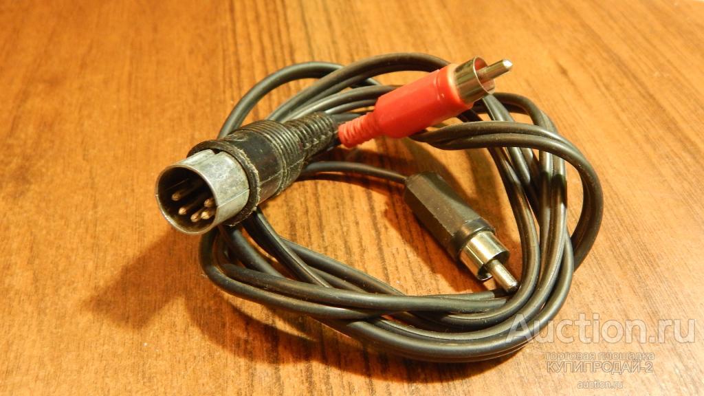 Шнур-кабель разветвитель к ауди и видео(11)
