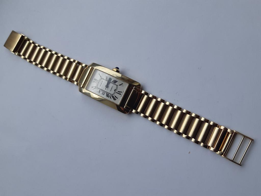 Наручные Мужские Часы Золотые Женева Рабочие Geneva Золото 585 пр Оригинальные общий вес ;71,74 гра