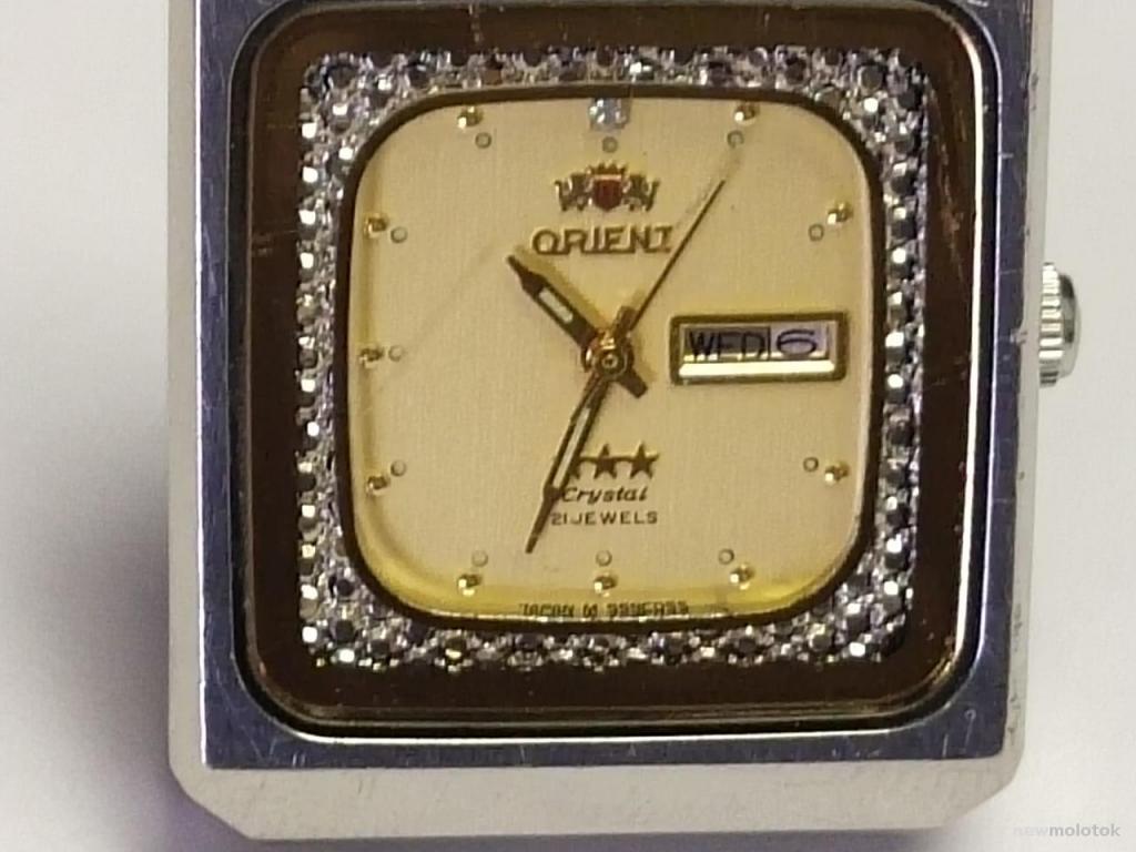 """Часы наручные """" ORIENT """". Автоподзавод . Япония. 3."""