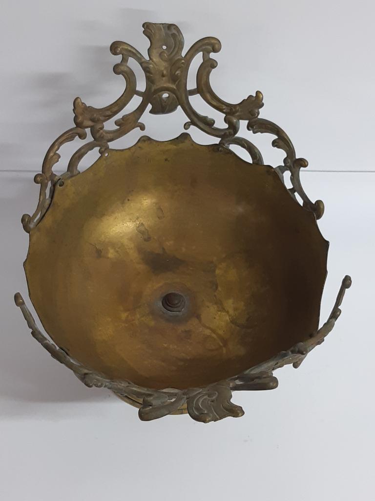 Фруктовница Ажурная Интерьерная Бронза размер ; 22*31 диаметр  см с рубля